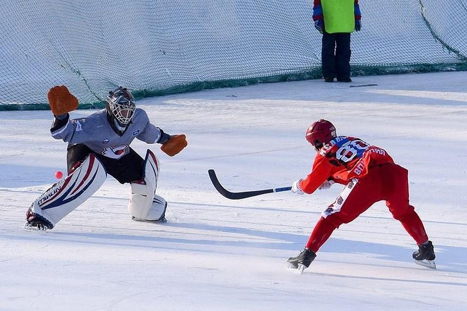 «Сибсельмаш» вырвал победу у«Старта» вЧР похоккею смячом