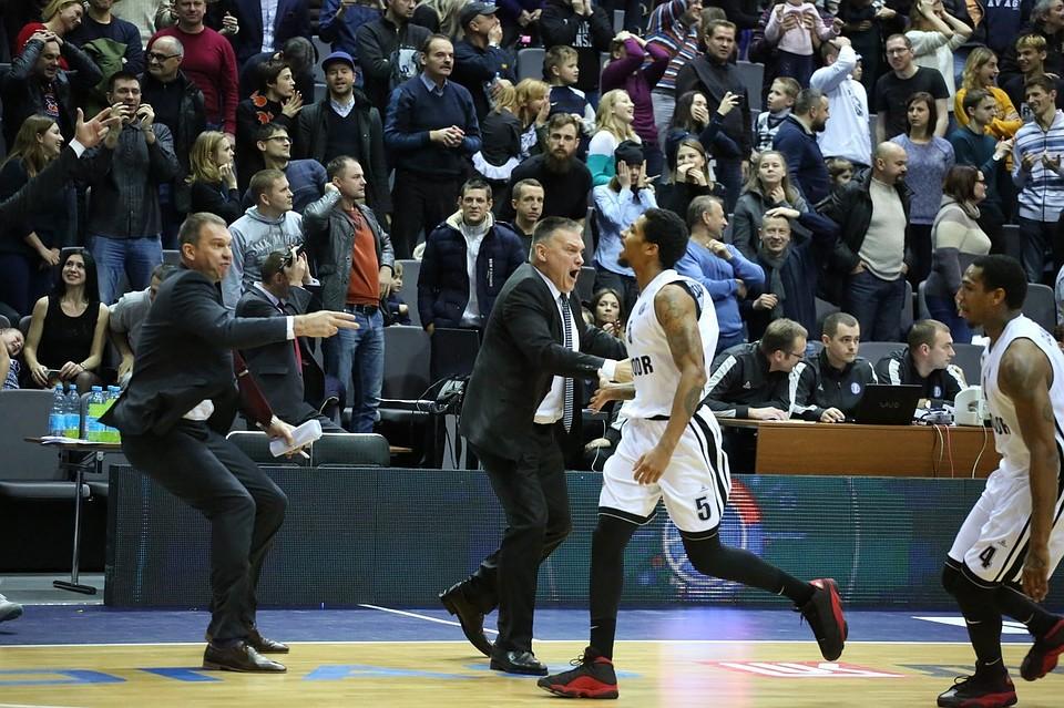 Баскетболисты «Автодора» победили «Цмоки-Минск» вматче Лиги ВТБ