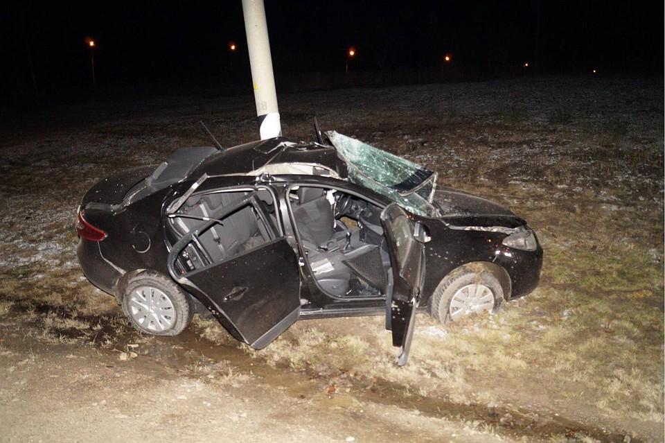 Сегодня ночью под Орлом погибла автоледи