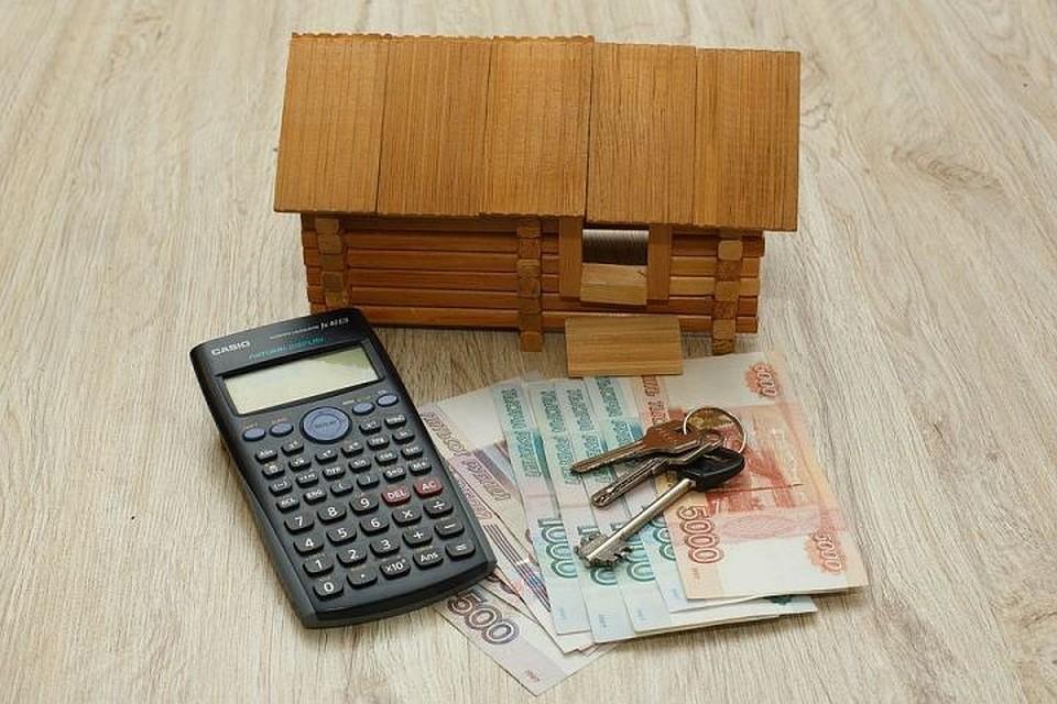 За счет кредитов покупались не только квартиры но и строились дома