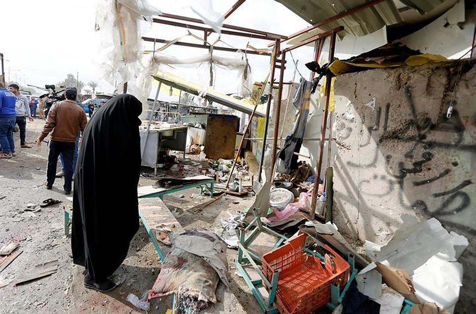 Неменее 12 человек погибли в итоге взрыва вБагдаде