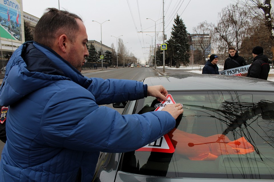 50 оттенков безопасности. Смоленские водители учавствуют вакции «Пристегнись, Российская Федерация!»