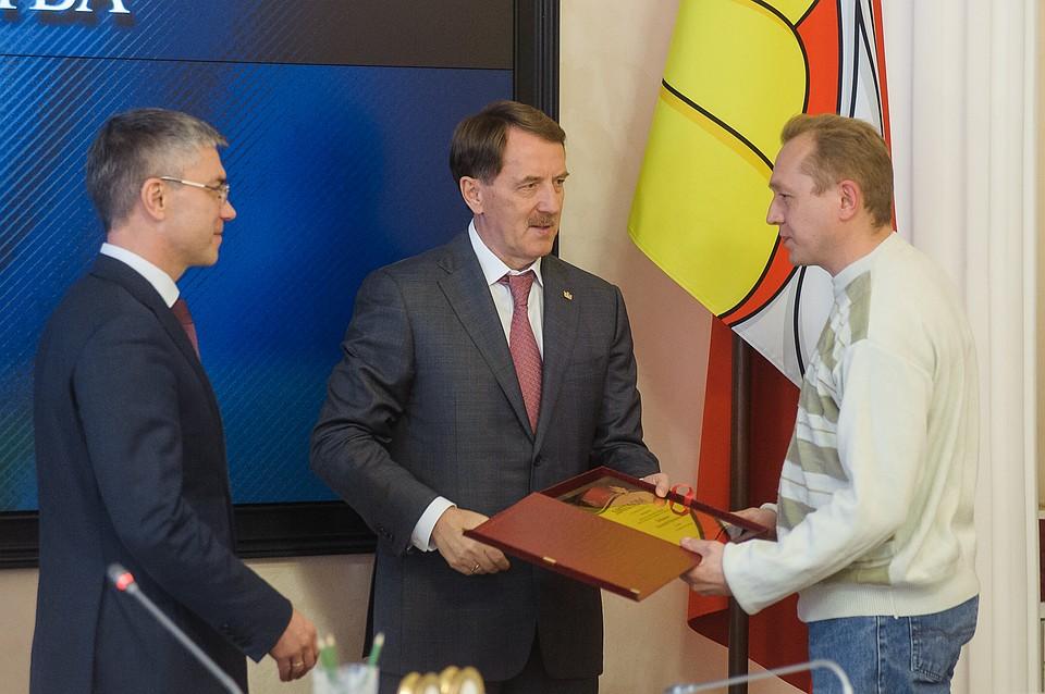 Губернатор Алексей Гордеев наградил победителей областного конкурса «Золотые руки» (ФОТОПОДБОРКА)