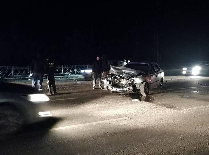 ВДзержинском районе Волгограда случилось тройное ДТП, есть пострадавшие