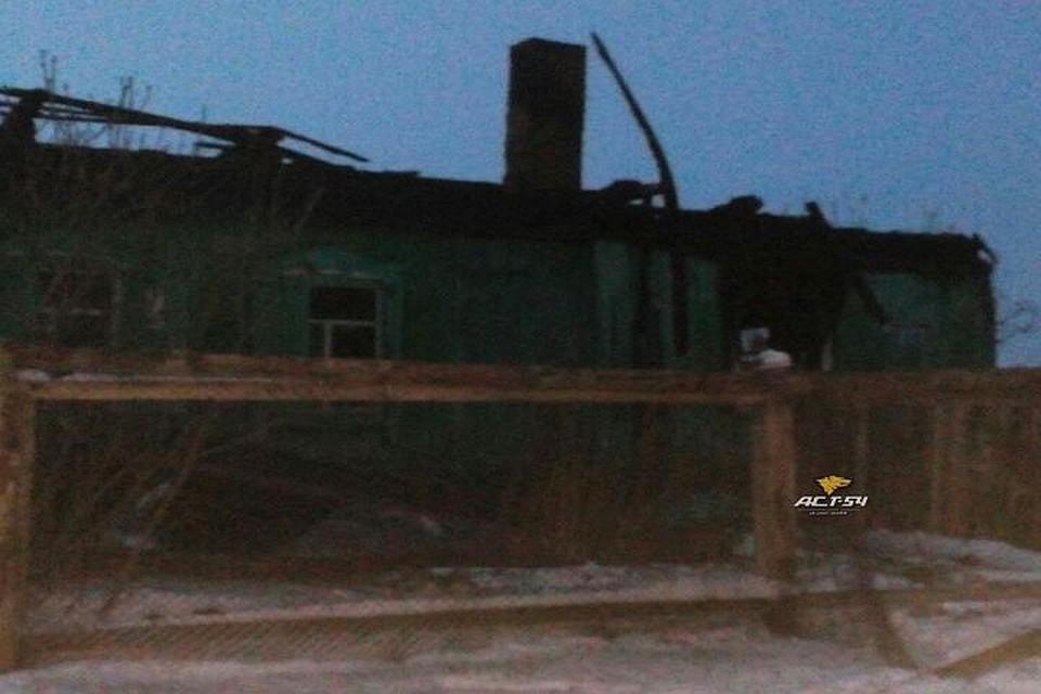 Мужчина иженщина погибли при пожаре вНовосибирской области