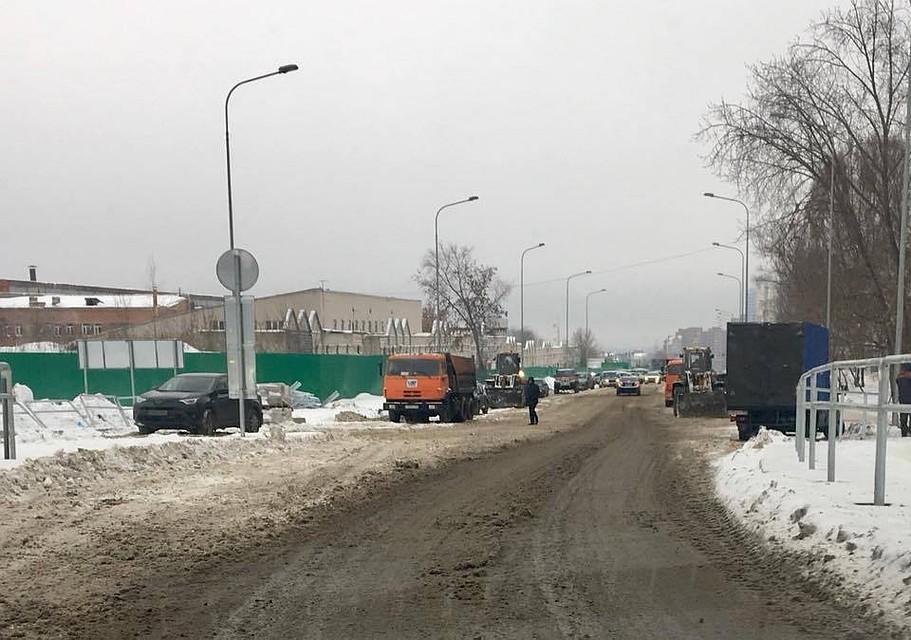 ВСамаре наулице Луначарского отМосковского шоссе Мичурина открыли дорогу