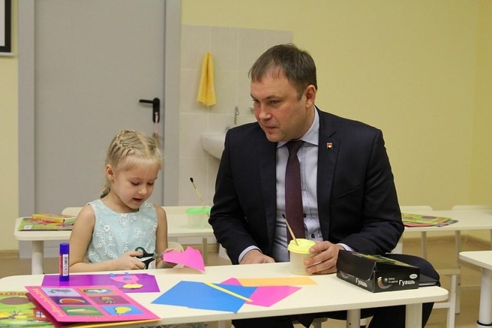 ВКемерове открыли корпус детского сада сбассейном имультипликационной студией