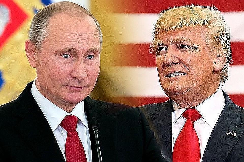 Сним можно перейти на«ты»— Путин оТрампе