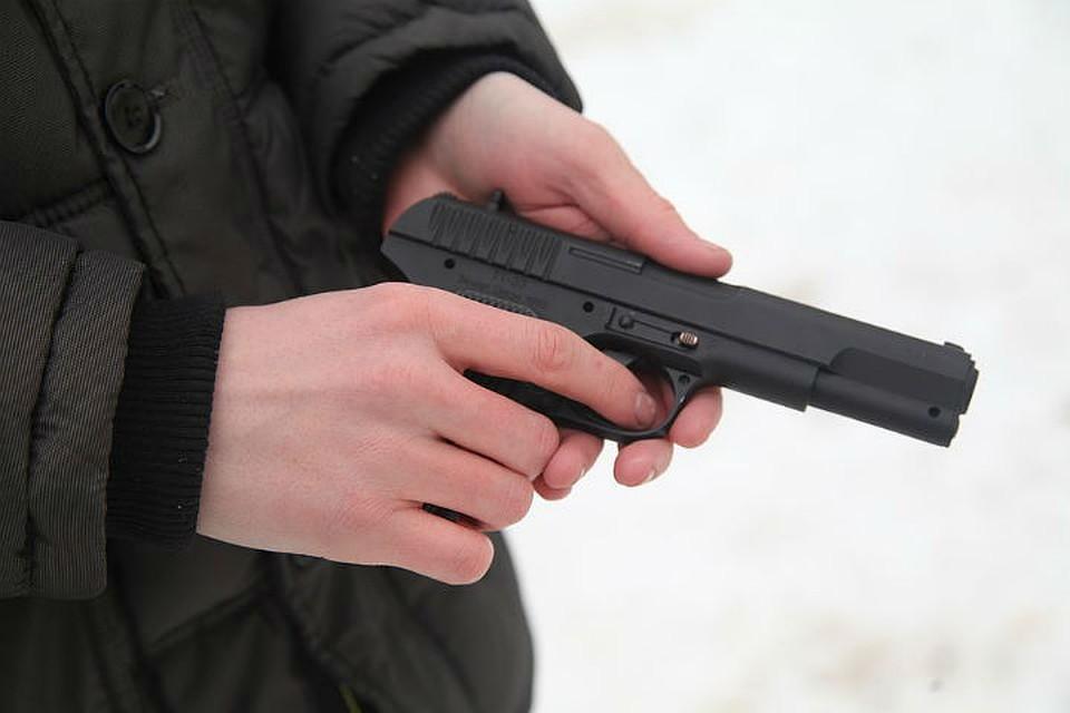 Гражданин Ленинского района Иркутска стрелял изпневматики полюдям исобакам