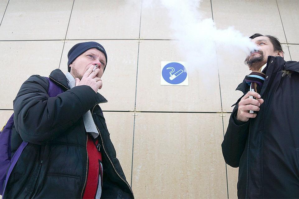 Руководство Российской Федерации отказалось запретить курение около подъездов