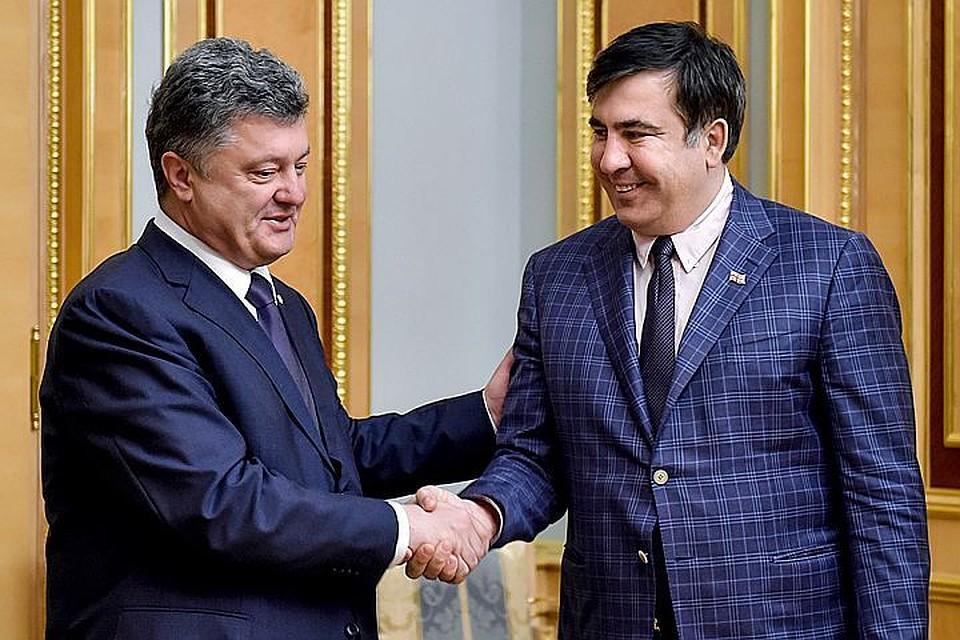 Саакашвили сказал Порошенко письмо спредложением помириться