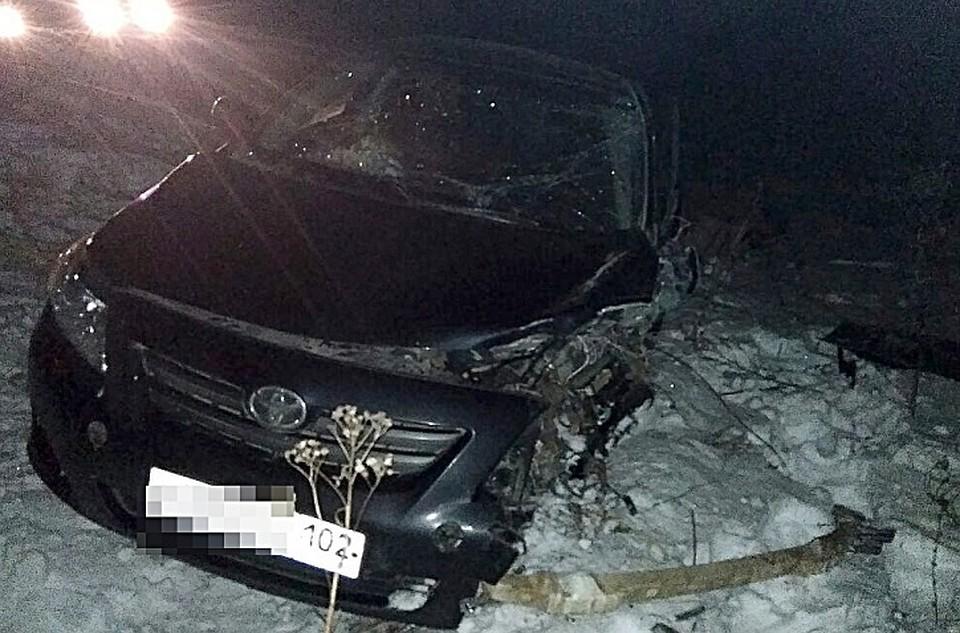 ВБашкирии встолкновении 2-х машин пострадали люди