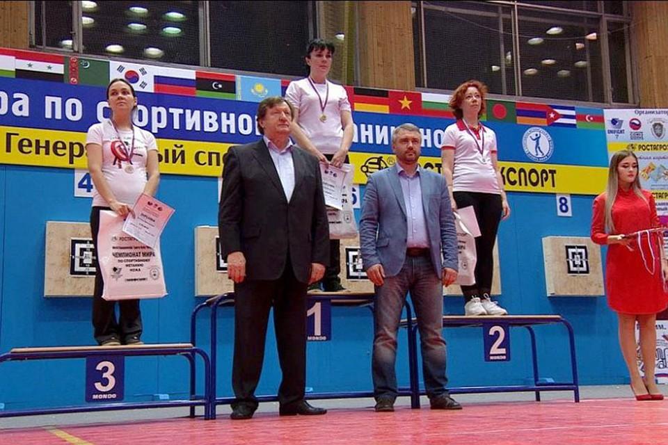 Удмуртские спортсмены завоевали медали начемпионате мира поспортивному метанию ножа
