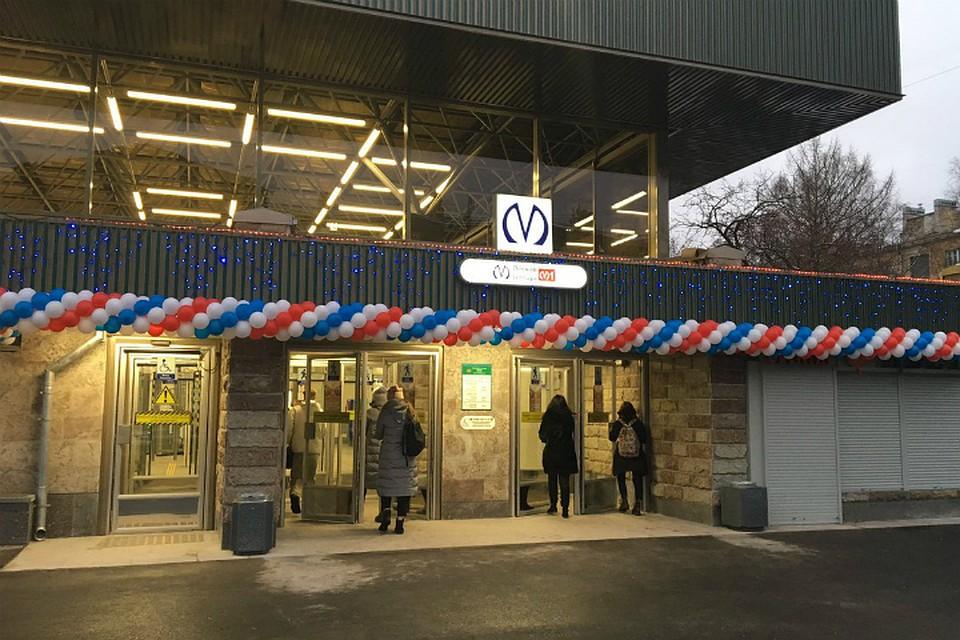 ВПетербурге после капремонта заработала станция метро «Лесная»