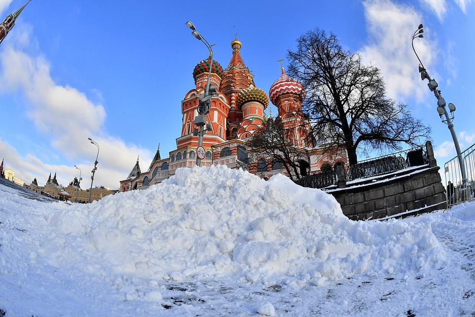 Жителей столицы ждет небольшой снег идочетырех градусов мороза