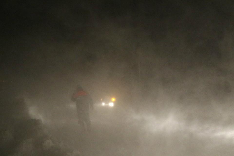 РежимЧС из-за снежной бури введен в 3-х районах Сахалина