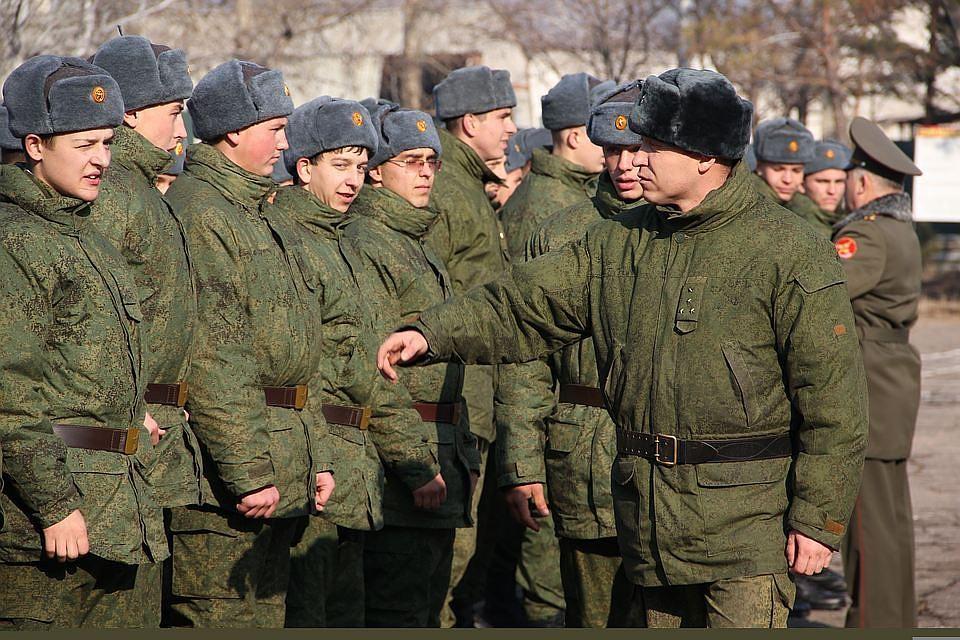 В РФ подведены результаты осеннего призыва вармию
