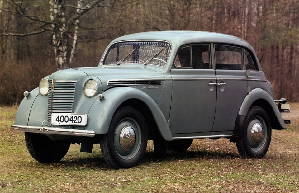 ВПетербурге угнали раритетный «Москвич» 1956г. выпуска