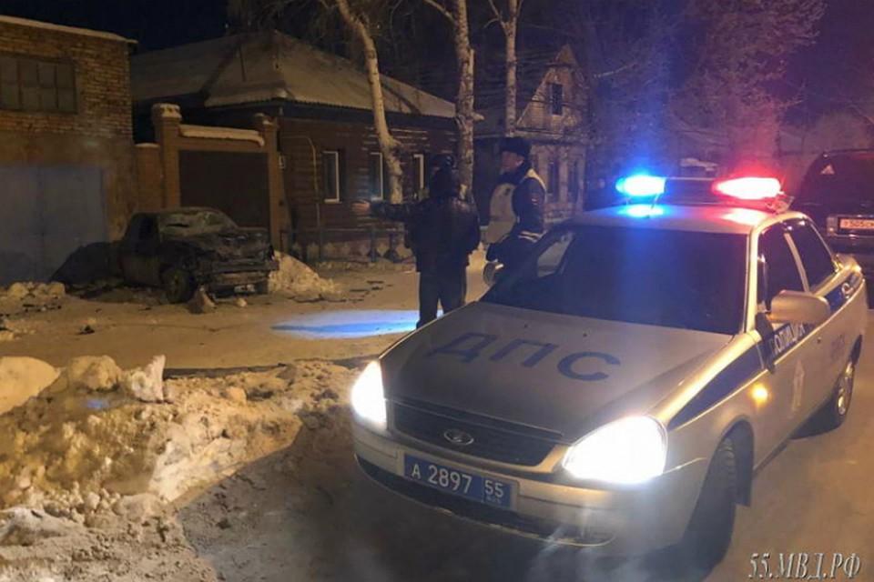 ВОмске легковой автомобиль насмерть сбил 2-х пешеходов