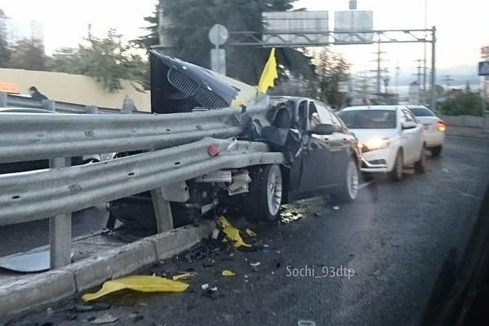 Вдорожной трагедии вСочи погибли 3 человека