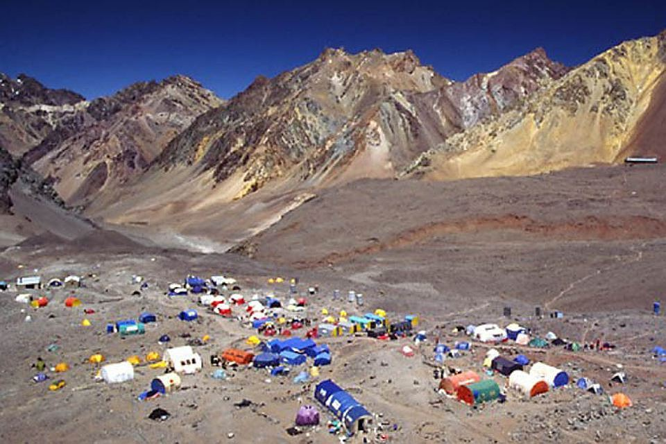 Аконкагуа считается самой высокой вершиной Анд