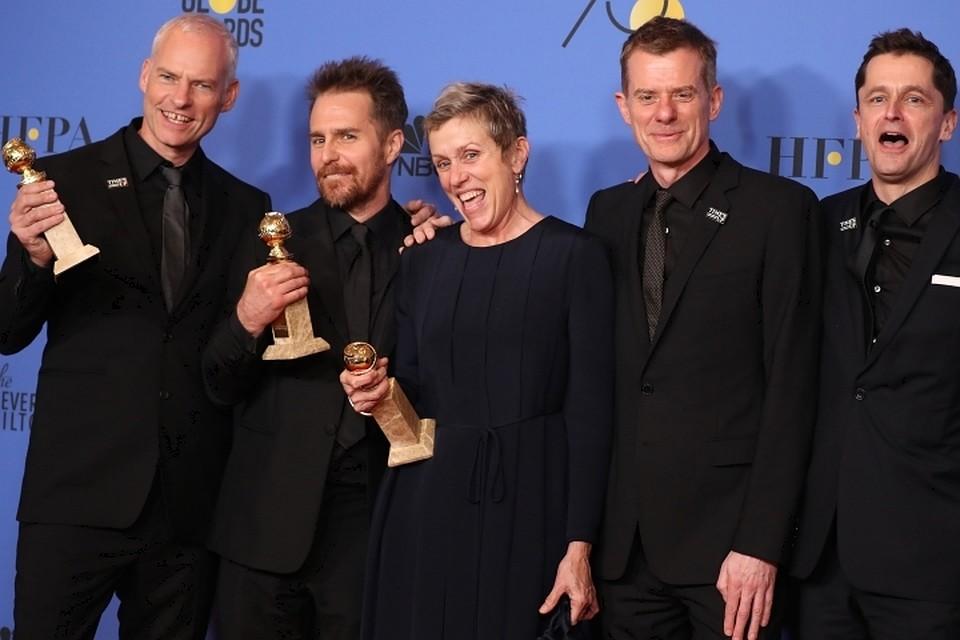 Кинорежиссер Гильермо дель Торо получил «Золотой глобус»