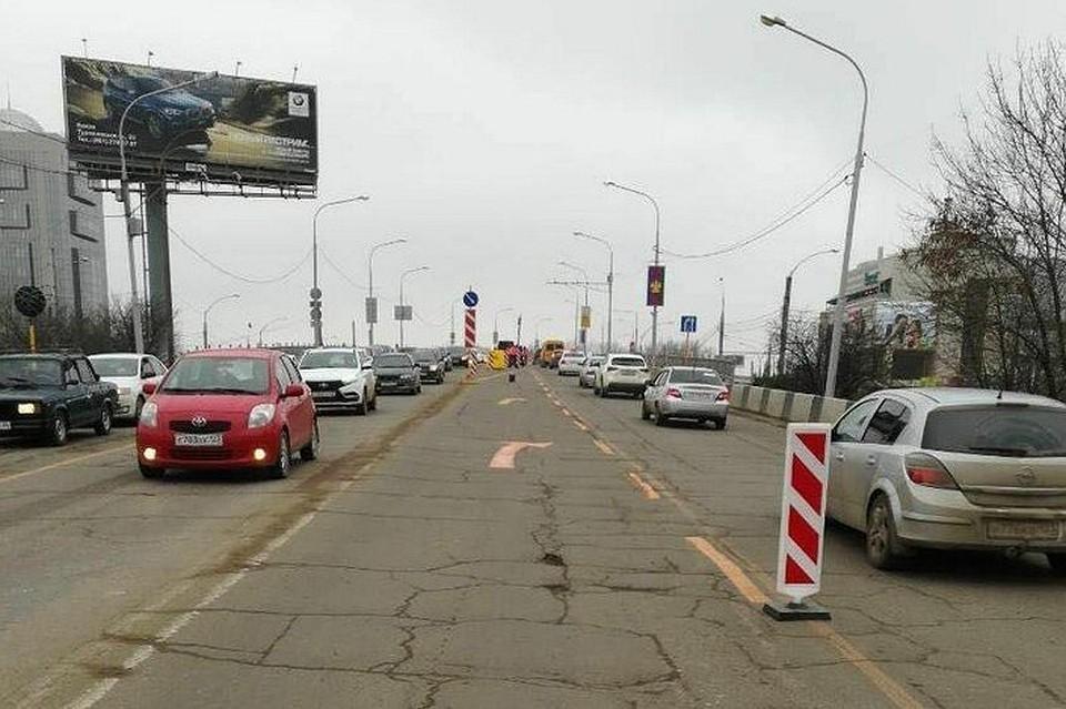 «Тургеневская» пробка вКраснодаре бьет рекорды января