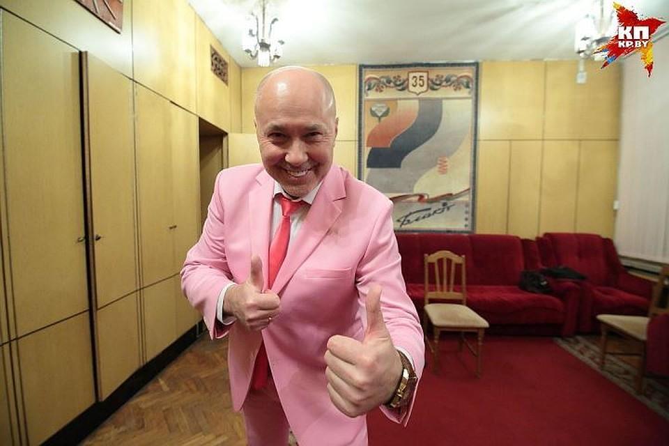 Александр Солодуха получил звание заслуженного артиста Беларуссии