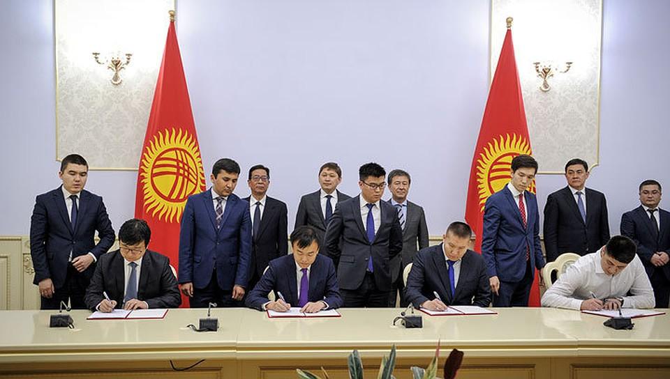 КНР  подарит Киргизии «умный город»