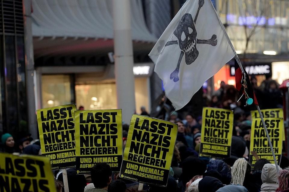 ВАвстрии прошел многотысячный протест против ультраправой партии в руководстве
