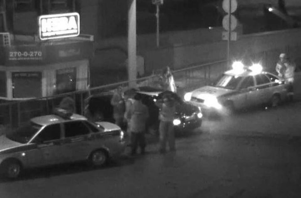 Нетрезвый шофёр «Приоры» врезался впост охраны вКраснодаре