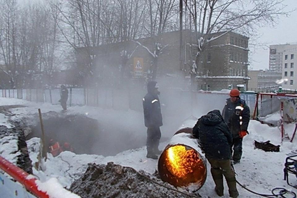 40 домов идетский парк остались без тепла вНовосибирске