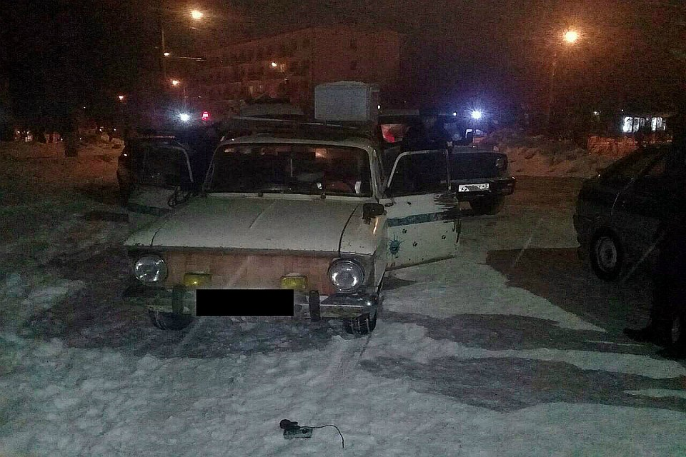 Росгвардейцы раскрыли угон «Москвича» дотого, как хозяин узнал онём
