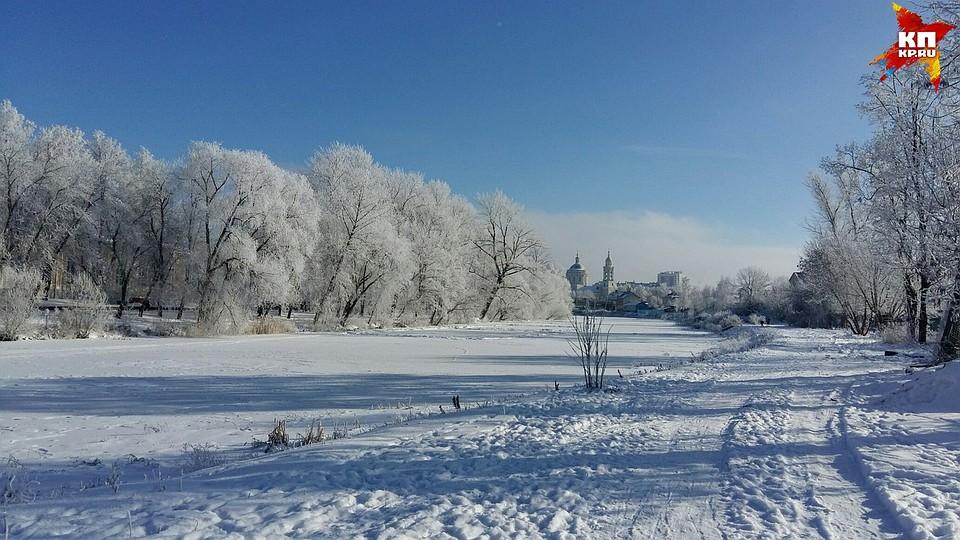Морозы на Орловщине ослабеют