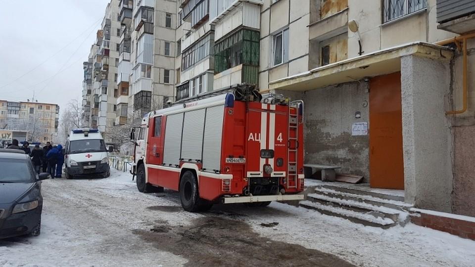 6-летний ребенок умер впожаре вЧелябинске