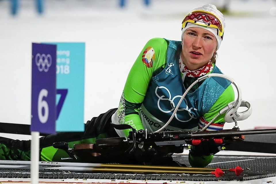 Олимпиада-2018. Биатлонистка Кузьмина посвятила свою победу брату-наркоману
