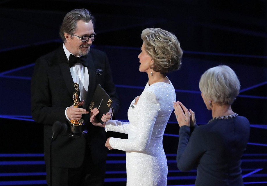 «Оскар» залучшую мужскую роль получил Гари Олдман