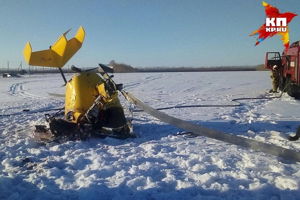 В РФ разбился самодельный самолет