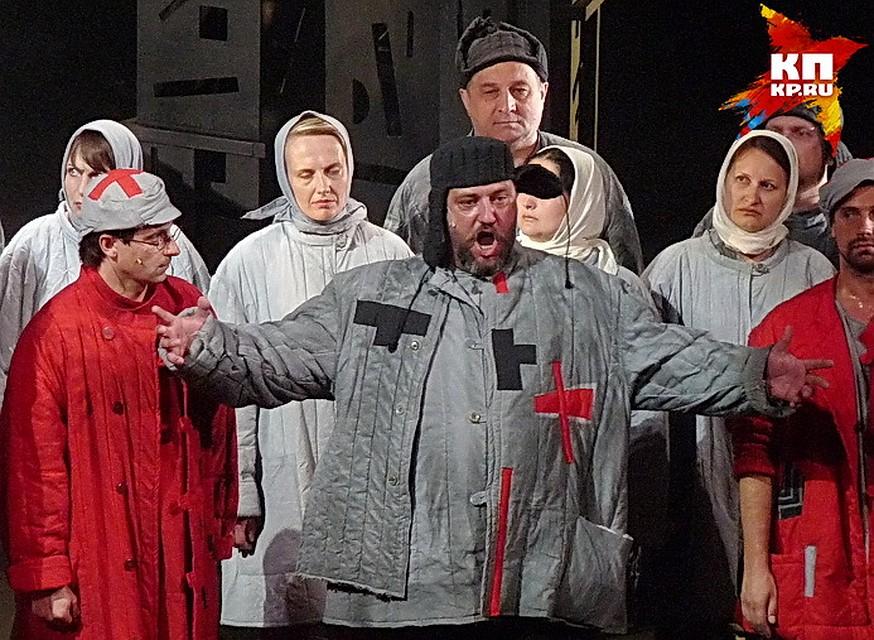 Оперу «Родина электричества» показали нафестивале «Золотая маска»
