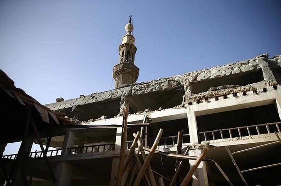 Зону военных действий вВосточной Гуте покинули до 20 000 мирных граждан