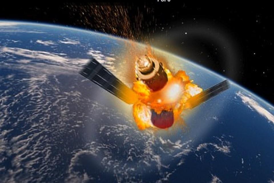 Врайоне Сочи может рухнуть неуправляемая космическая станция