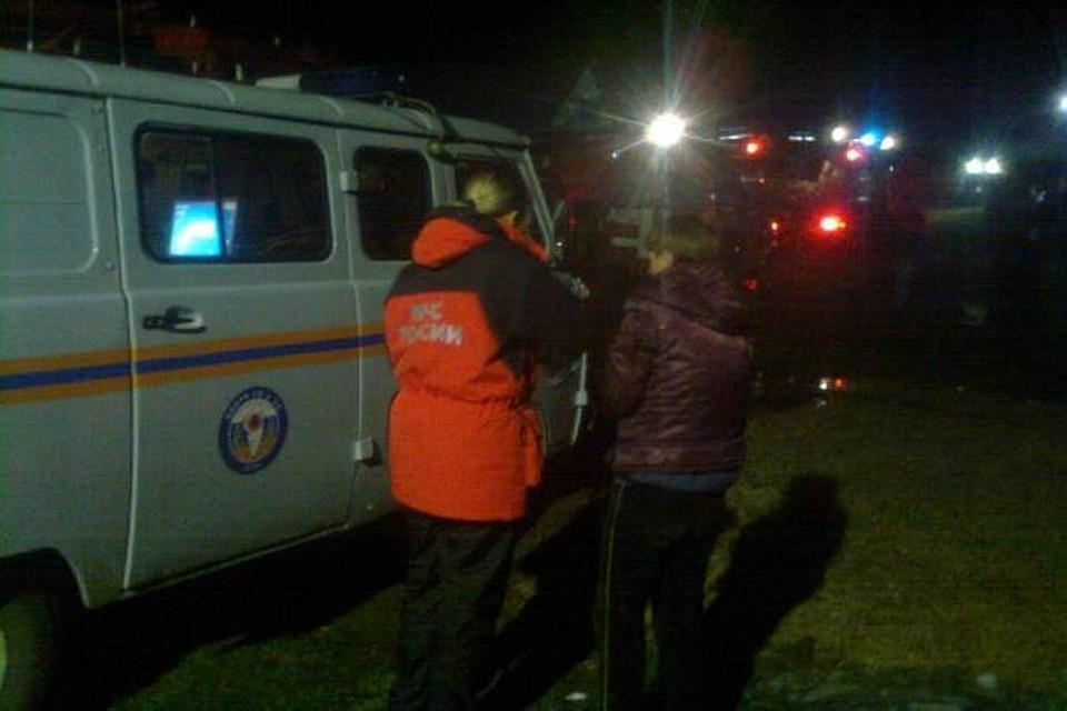 Вдетском реабилитационном центре вПодмосковье произошёл пожар