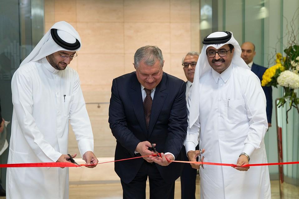 «Роснефть» предлагает Катару технологию утилизации углекислого газа