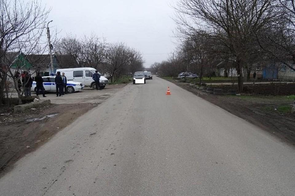 Шофёр без прав сбил выбежавшую надорогу девочку наСтаврополье