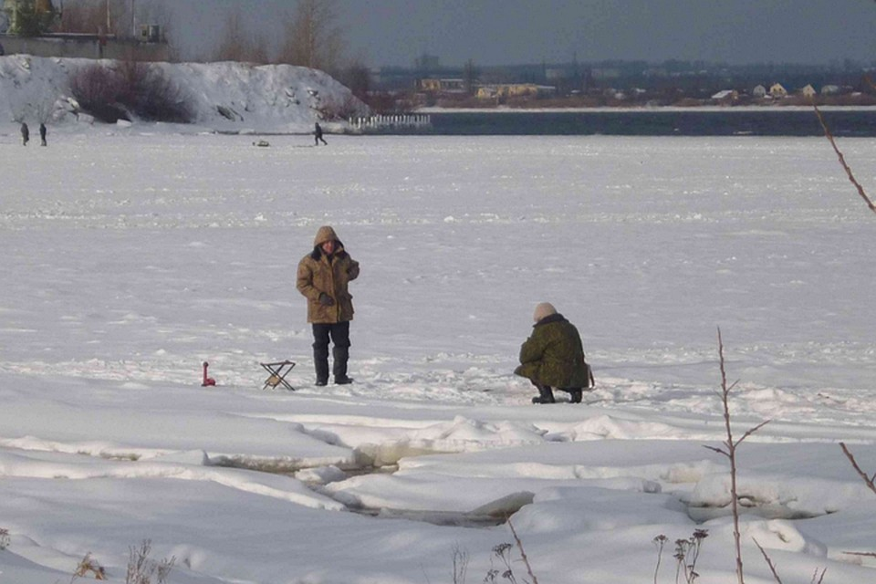 ВНижегородской области откололась льдина с26 рыбаками «наборту»