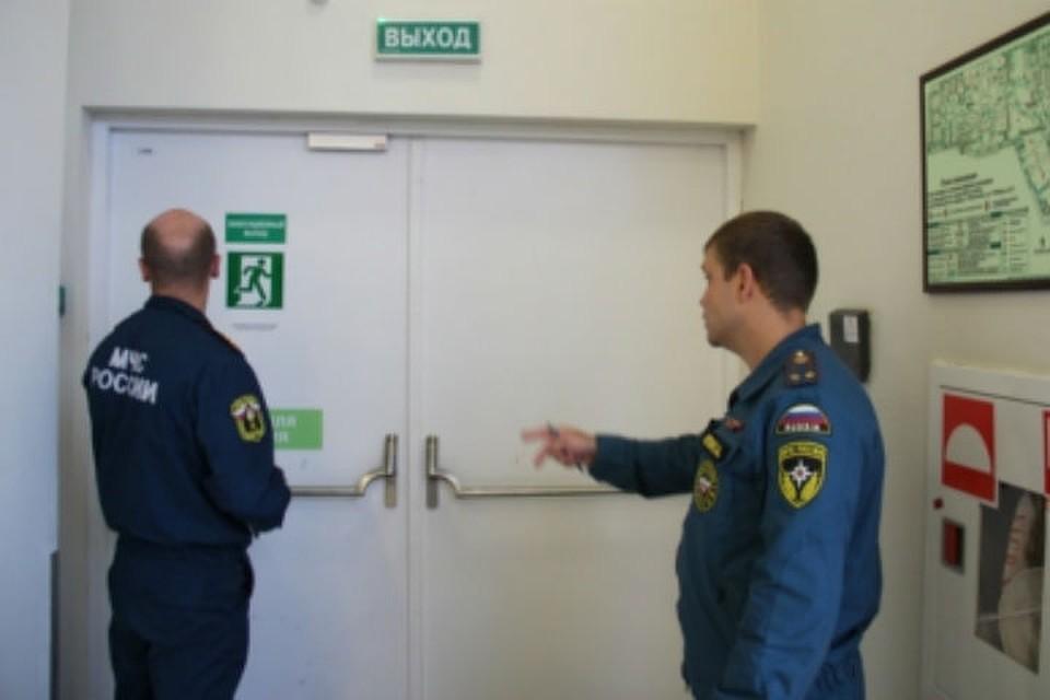 В ярославских торговых центрах нашли 500 нарушений противопожарной безопасности. Фото МЧС Ярославль