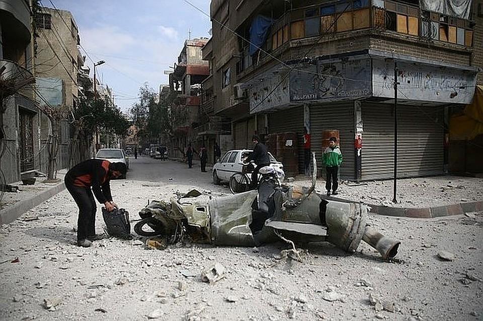 Пригород Дамаска город Дума