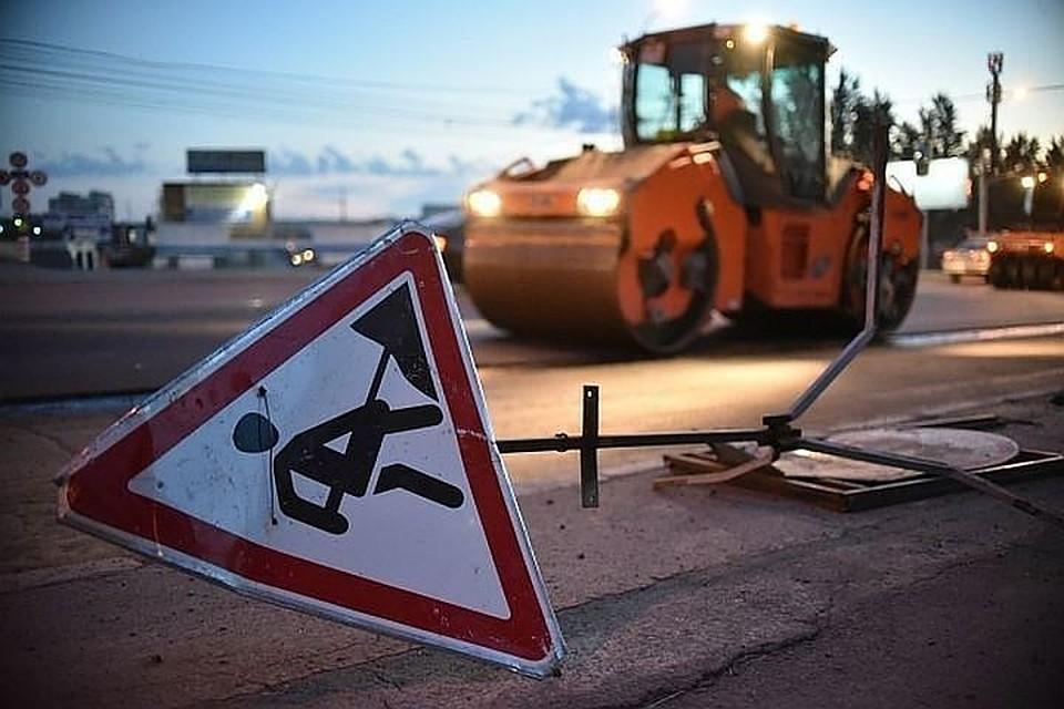 Движение наОбуховском мосту ограничат вПетербурге надве ночи