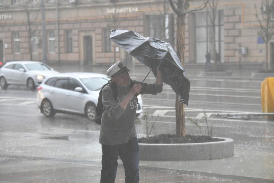 В столицеРФ закрыли ВДНХ из-за штормового предупреждения