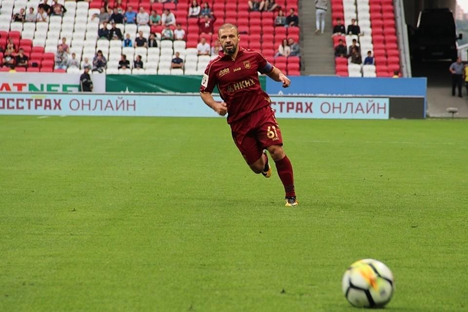 «Рубин»— «Уфа». Карадениз— взапасе напоследний матч вКазани